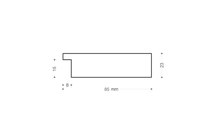 Profil lemn 109-106