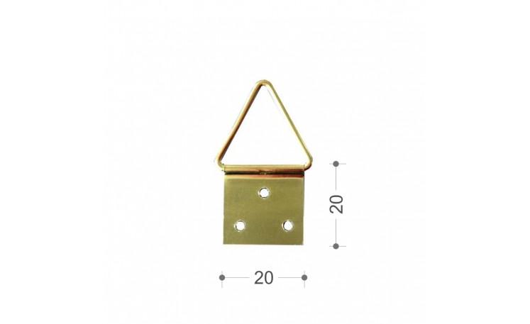 Agatatoare triunghiulara mare